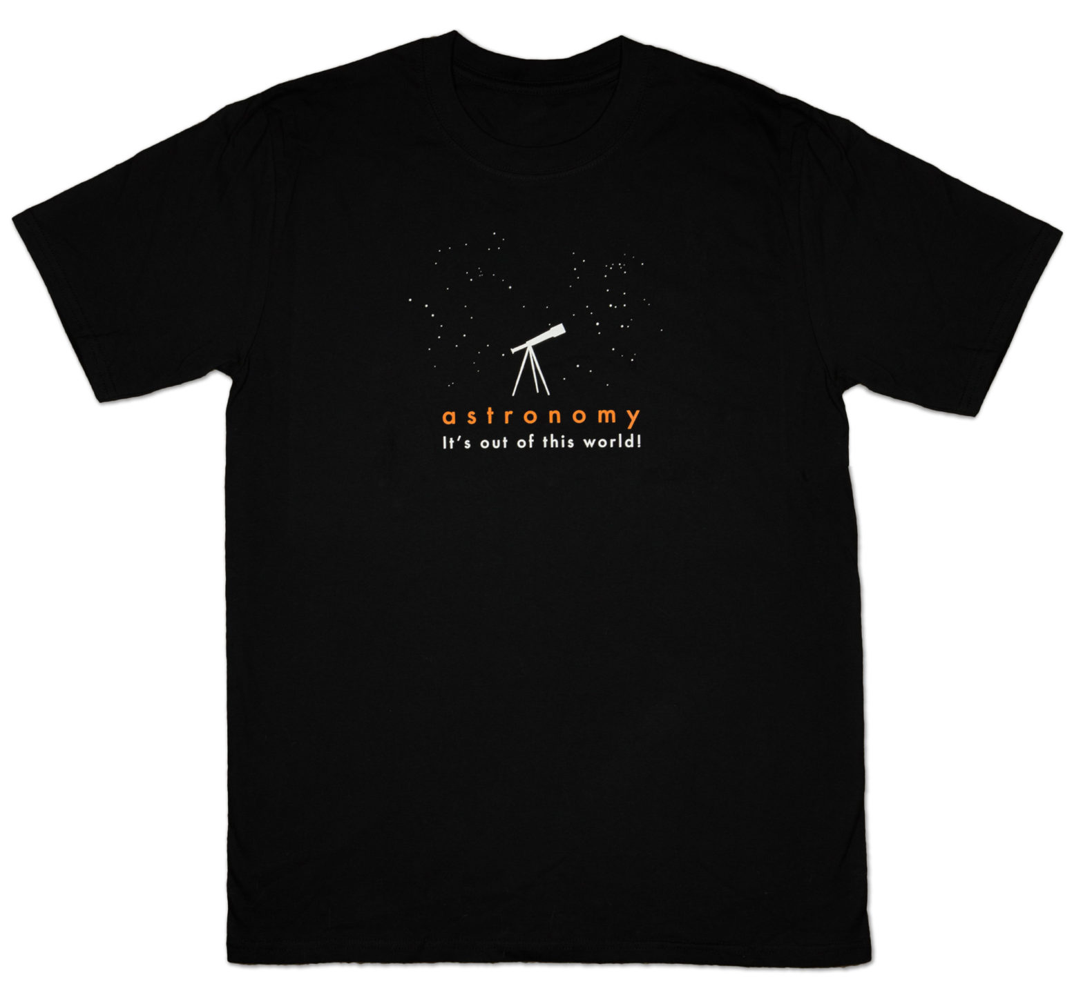 T-shirt: Astronomy – It's out of this world!